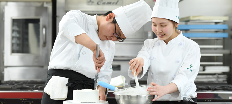 製菓調理コース